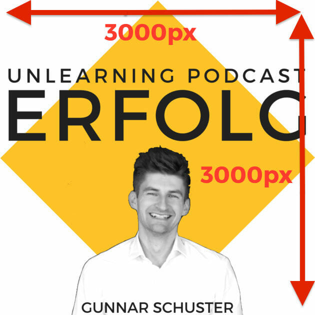 podcast erstellen unlearning podcast grafik