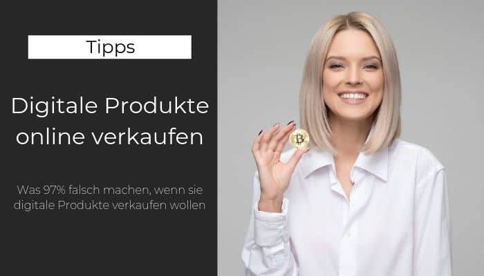 Digitale Produkte online verkaufen