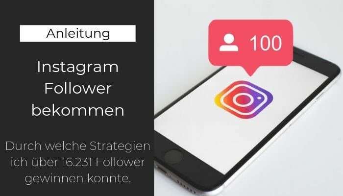 Instagram Follower bekommen
