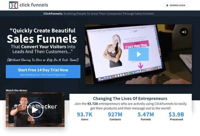 Coaching Business mit Clickfunnels