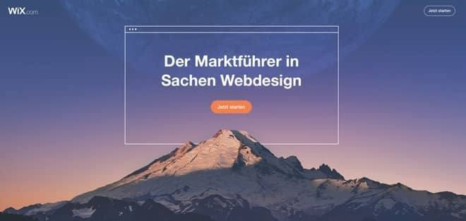 Coaching Webseite mit Wix erstellen
