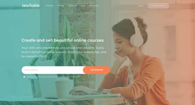 Mit Teachable kannst du einfach deinen eigenen Online Kurs erstellen und anbieten.