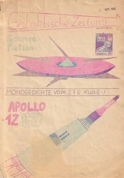 """Erste Schülerzeitung von Dr.Dr. Rainer Zitelmann """"Galaktische Zeitung"""""""