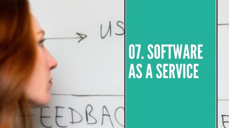 Online Business Idee Software as a Service