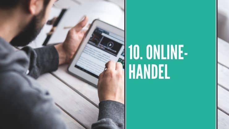 Online Handel als Idee für dein Online Business