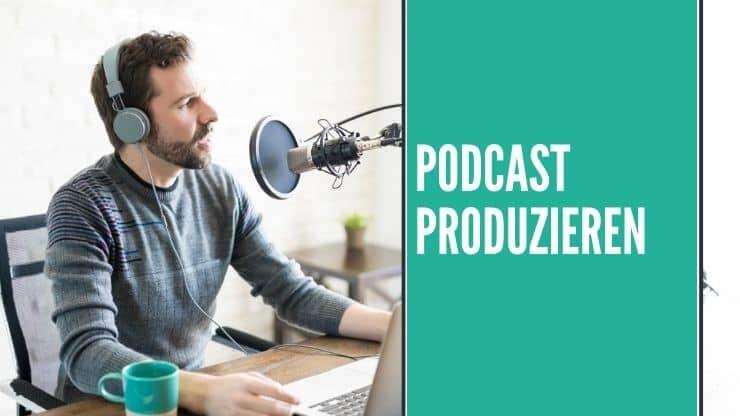 Die Folgen für deinen Podcast produzieren und erstellen