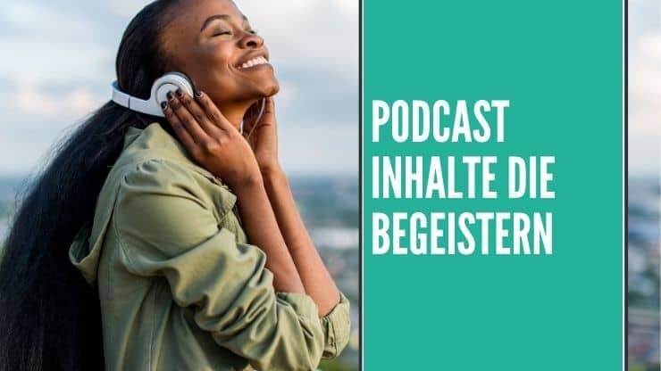 Gutes Storytelling hilft dir einen eigenen Podcast zu erstellen, der auch gehört wird.