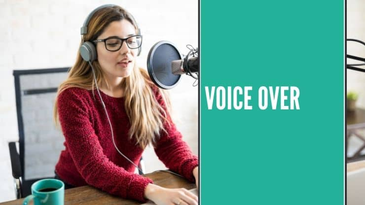 Voice Over in Heimarbeit