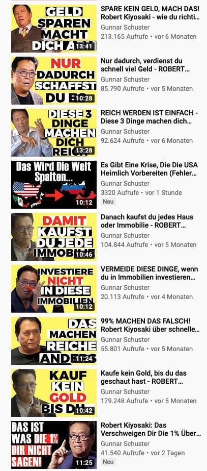 Empfehlung Youtube Videos